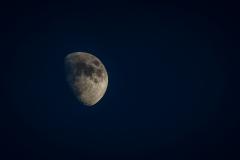 Moon over Georgia (Vashlovani Nature Reserve)