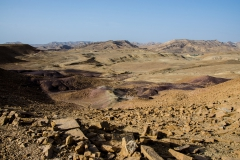 View over the Makhtesh Ramon, Israel