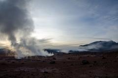 Hot springs, Eduardo Abaroa Andean Fauna National Reserve, Bolivia