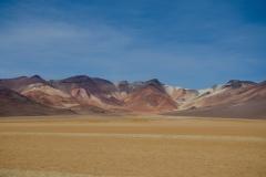 Mountain range, Dalí Valley (Valle de Dalí) in the Eduardo Abaroa Andean Fauna National Reserve, Bolivia